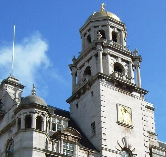 Royal Insurance building, city centre