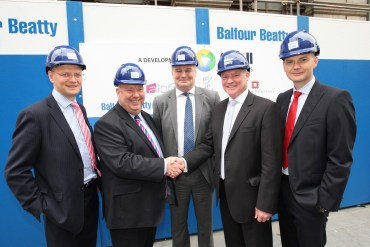 Work begins in Royal Insurance Building