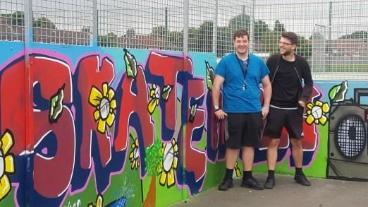 Skateboard Park grafitti.4jpg