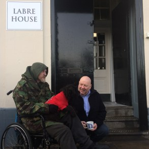 Mayor Anderson at Labre House