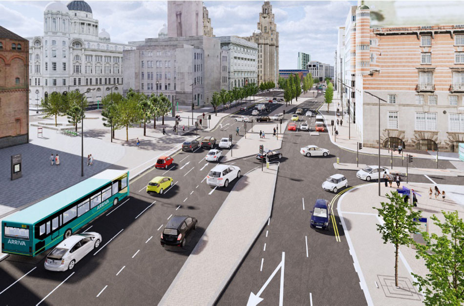 Liverpool City Centre Connectivity Scheme - The Strand