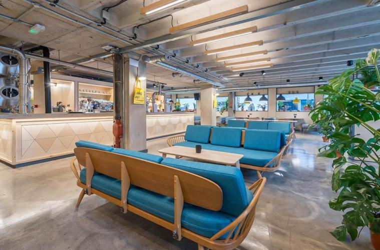 HUS; Restaurant, Bar & Venue Space 1