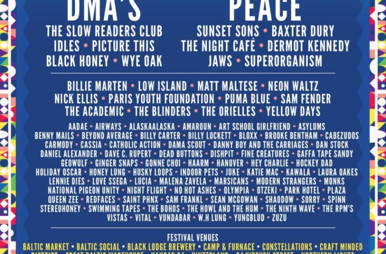 Sound City Announces 100 Brand New Artists For 2018 Festival 1