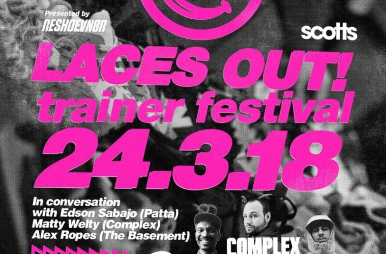Laces Out! Trainer Festival Returns to Liverpool This Saturday