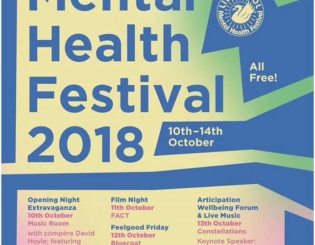 Line-up Revealed For Liverpool Mental Health Festival 1