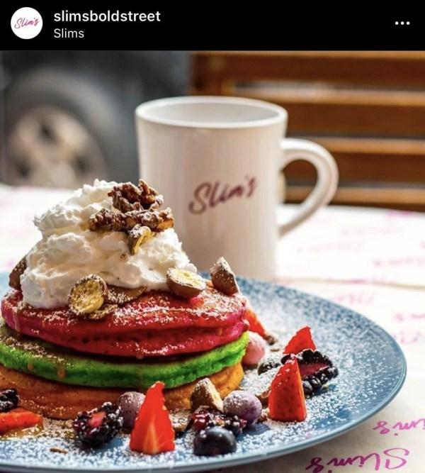 Slim's Bold Street Instagram Pancakes