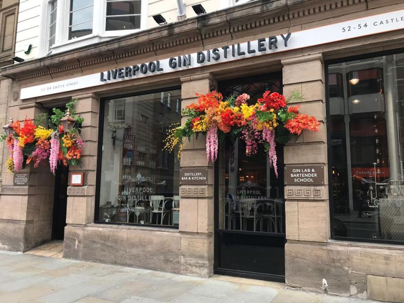 Castle Street Restaurants and Bars Liverpool Gin Distillery