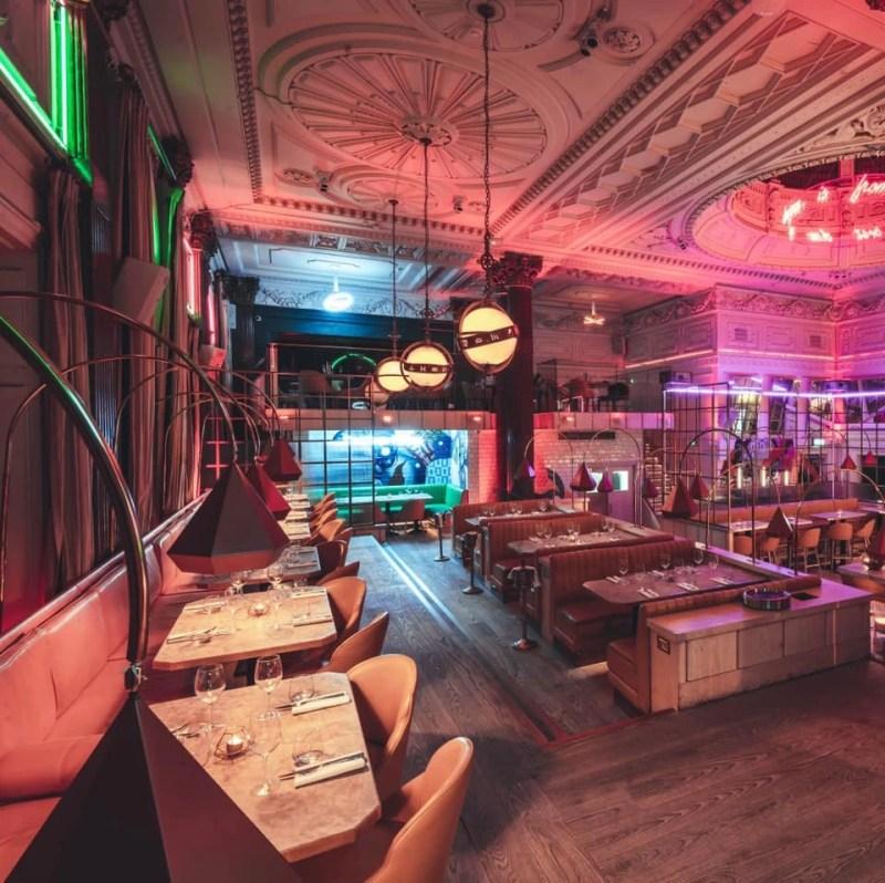 Castle Street Restaurants and Bars Neighbourhood Liverpool
