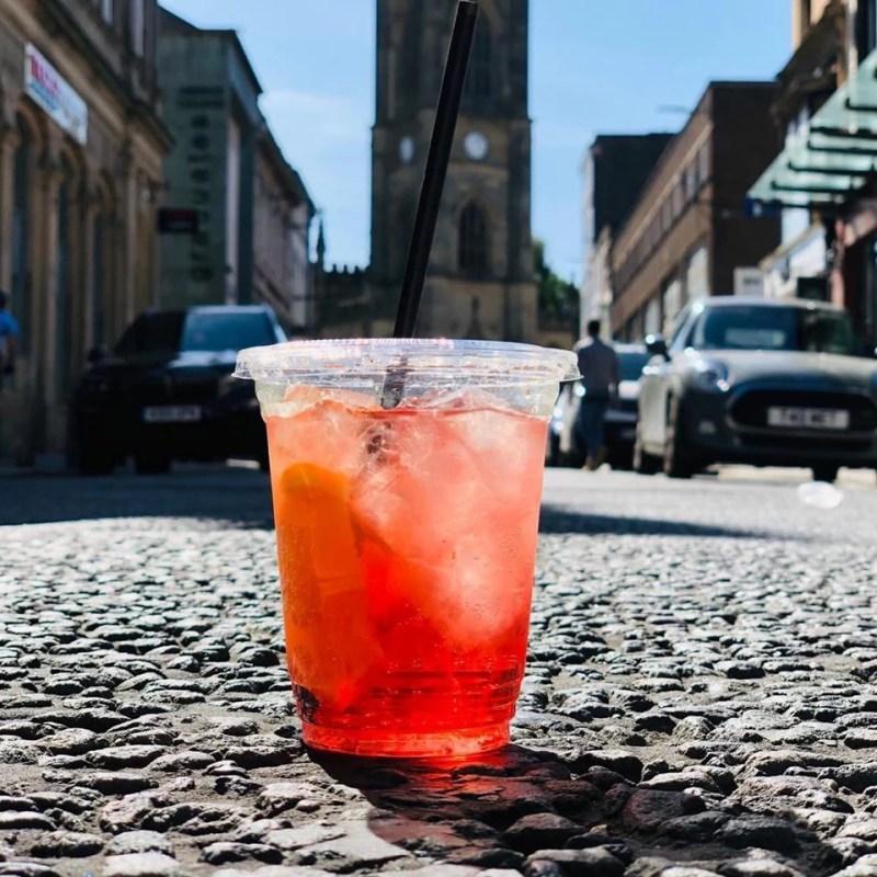 Liverpool Bars serving takeaway drinks Bold Street Coffee