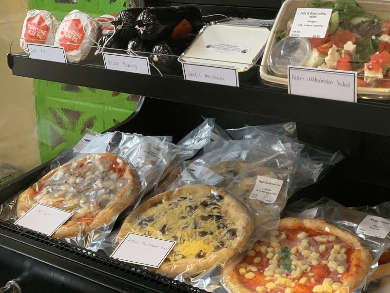 Maluco Pizzeria Deli fresh produce