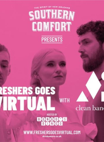 Freshers Goes Virtual - Thurs 1st October - NEW