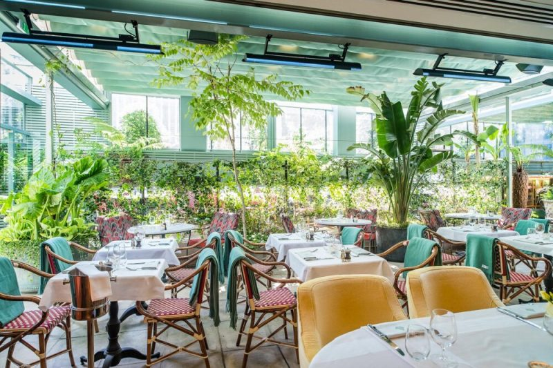 New Liverpool Restaurants The Ivy City Garden London