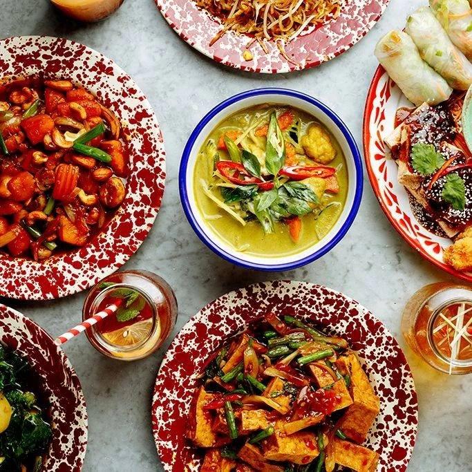 Royal Albert Dock Restaurants Rosa's Thai Cafe