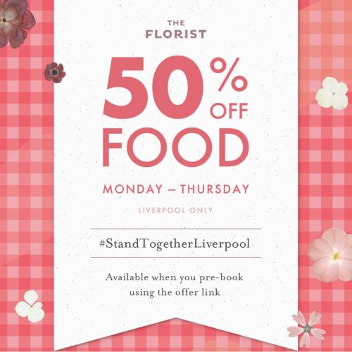Eat Out To Help Out October Deals The Florist