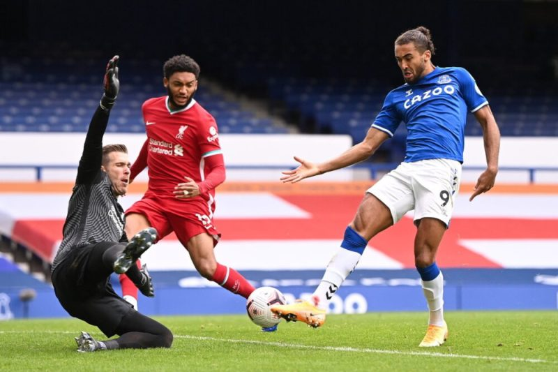 Everton Derby Goodison 2020