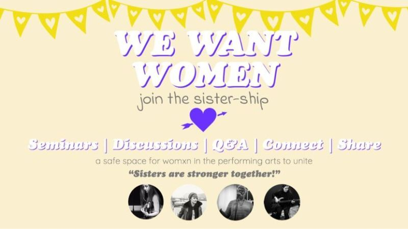 We Want Women The Sister Ship