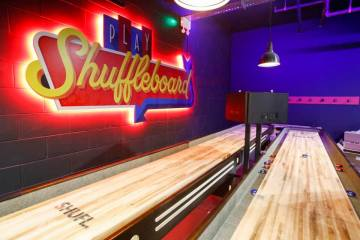 Boom Battle Bar Liverpool Shuffleboard