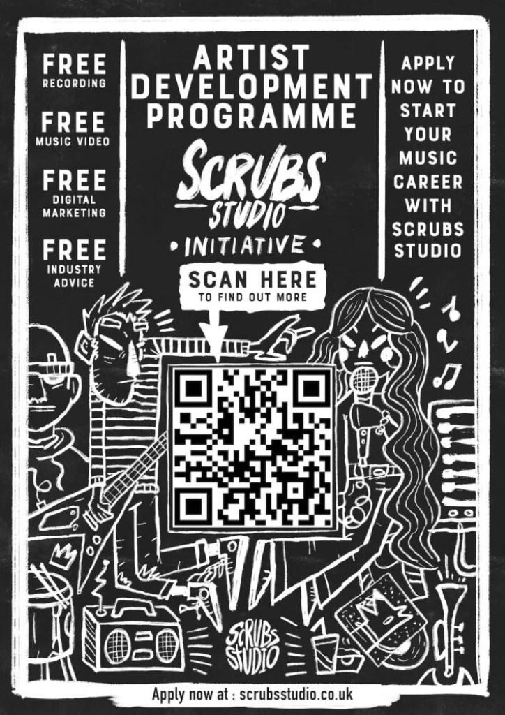 Scrubs Studio Liverpool Poster