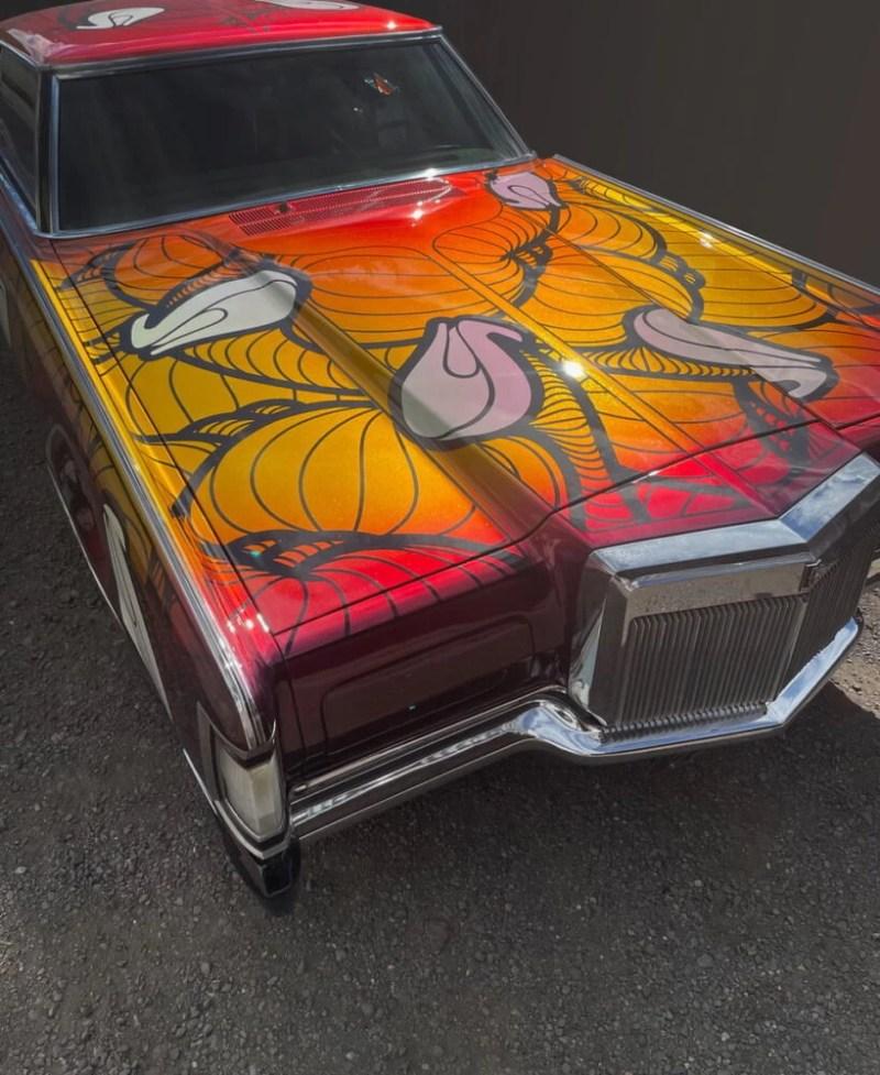 Body WorkINSA Graffiti Fetish Lincoln Continental