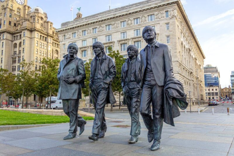 Liverpool Music The Beatles Statue