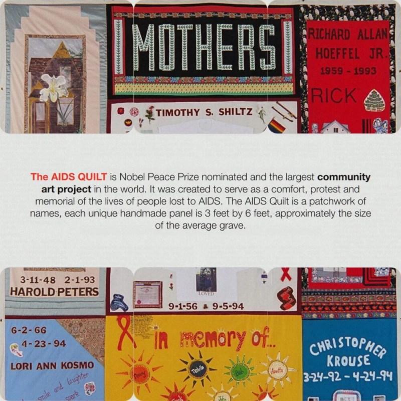 24 Kitchen Street AIDS quilt