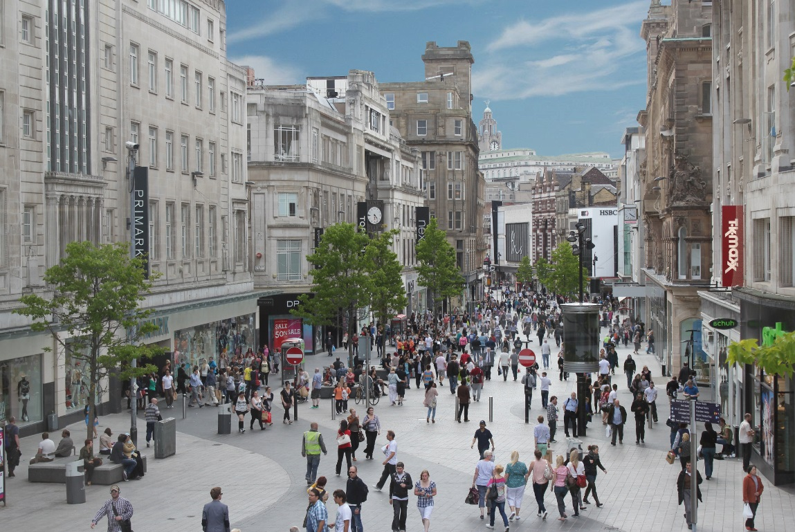 Shopping In Liverpool City Centre