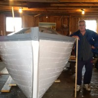 A Labour of Love - Old-Fashioned Motor Boat Built in Noddy Bay!
