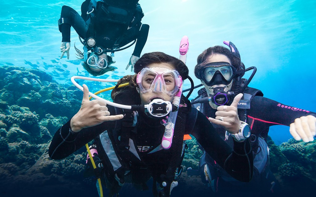 The Professional Association of Diving Instructors (PADI) is holding its 3rd annual Women's Dive Day on July 15th