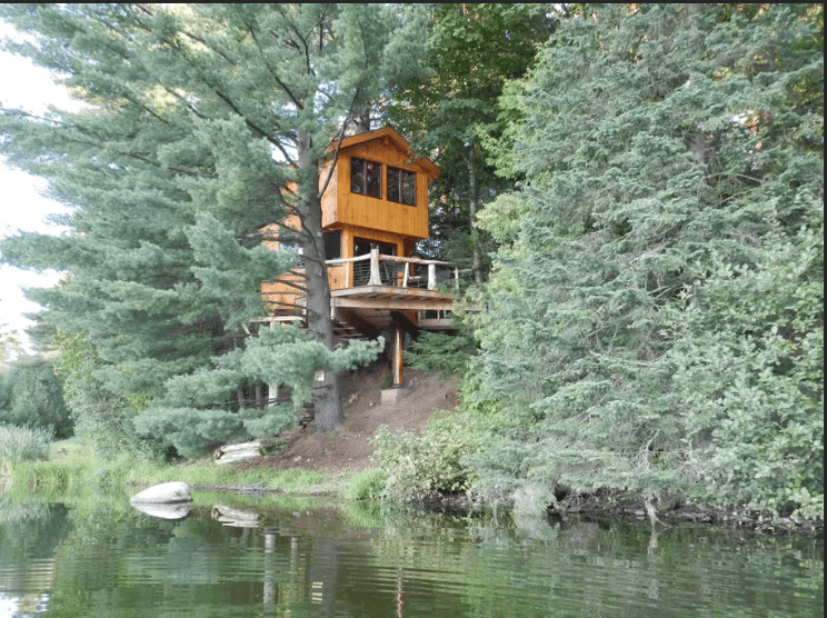 treehouse camping east coast