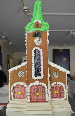 """St. George's Gingerbread Church"" by Nicholas Perron"