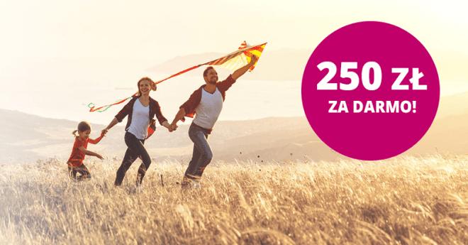 250 zł za założenie Konta Otwartego na Dzisiaj w promocji Zgarnij Premięod BNP Paribas