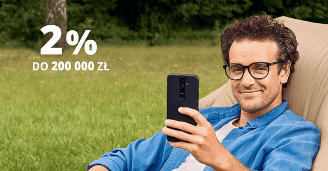 2% do 200 000 zł - Elastyczne konto oszczędnościowe