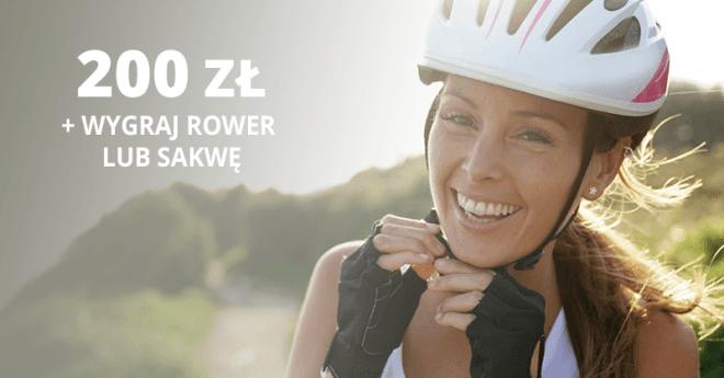 Gwarantowane 200 zł oraz możliwość wygrania roweru lub sakwy od BNP Paribas