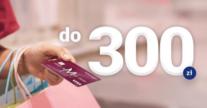 300 zł za kartę kredytową Bank Millennium