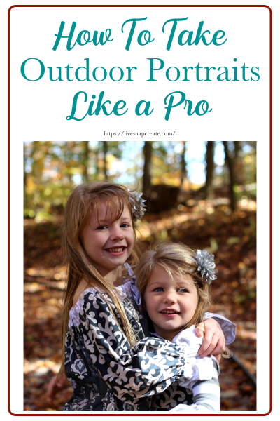 How to Take Outdoor portraits