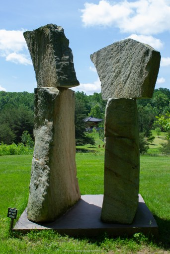 Stones at Meadowlark Gardens