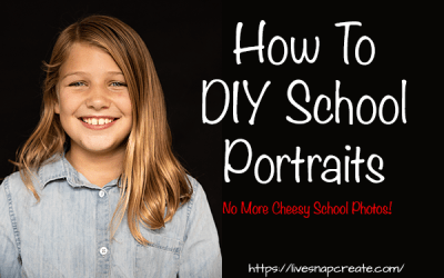 How To DIY School Portraits