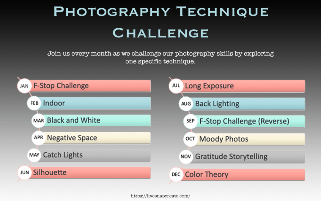 Monthly Photography Technique Challenge