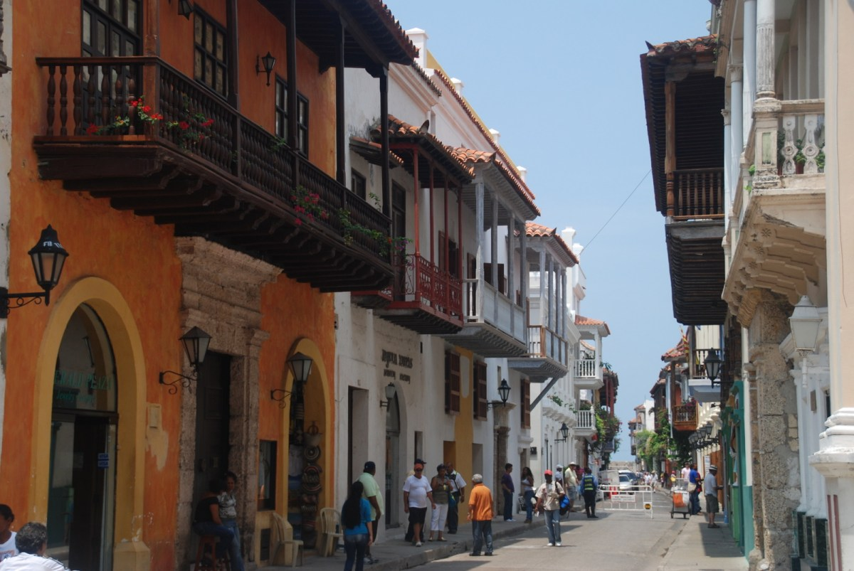 Strolling Through Cartagena