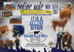Rolling Hills Cattle Co Online Sale @ Breeders World