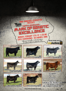 48th Annual Mark of Genetic Excellence @ Iowa State Fairgrounds | Des Moines | Iowa | United States