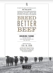 Bruning Farms Production Sale @ Fairbury Livestock Co. | Fairbury | Nebraska | United States