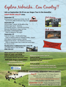 NE Angus Tour @ Loup River Valley Area