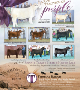 Thomas Ranch Private Treaty Steer & Heifer Sale @ Harrold | South Dakota | United States