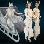 Ice Queen & Sleigh