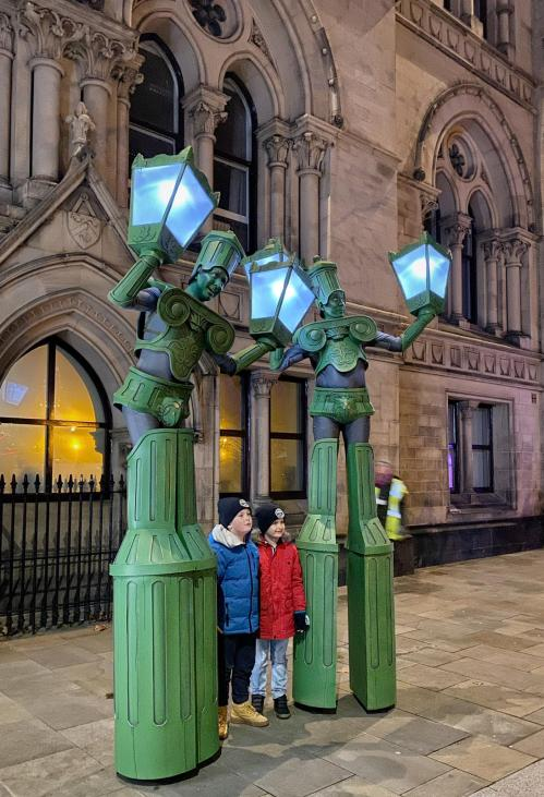 Living Lamp Posts