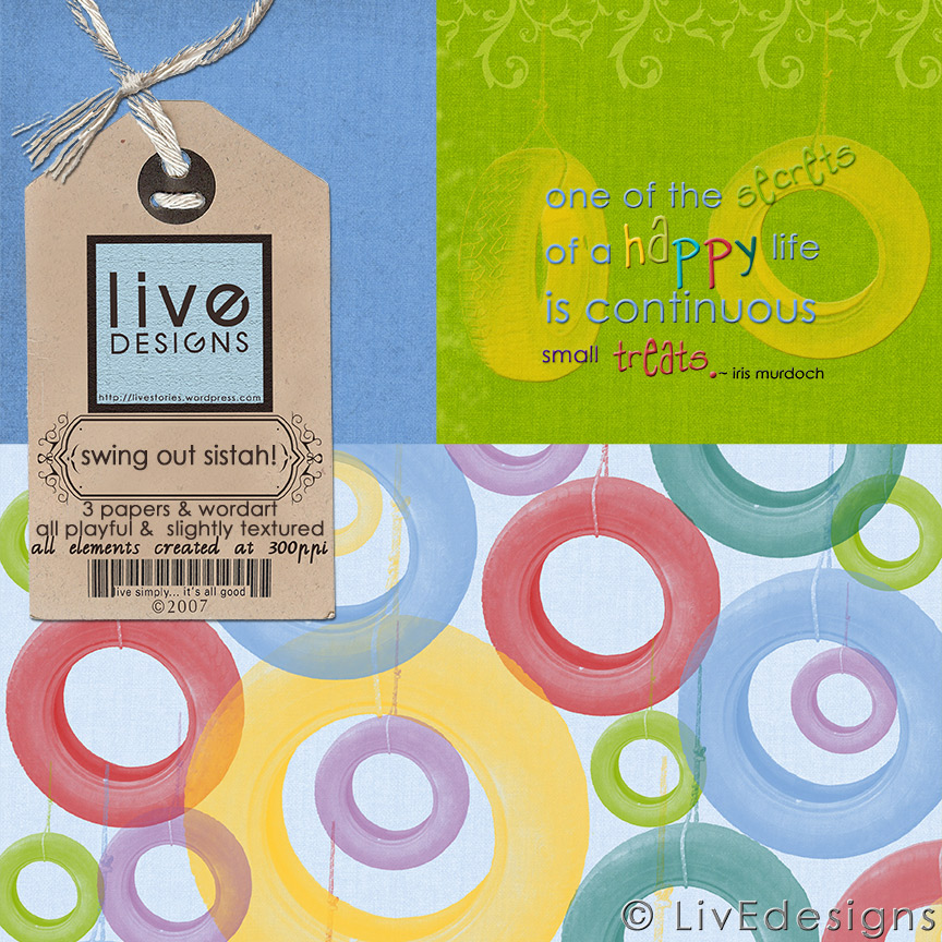 LivEdesigns Swing Out SistahSet1