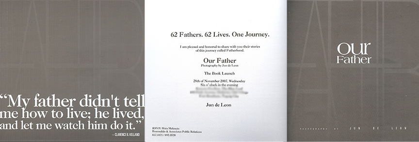 Our Father ~ The Book Launch