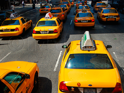 The Ubiquitous NYC Taxis