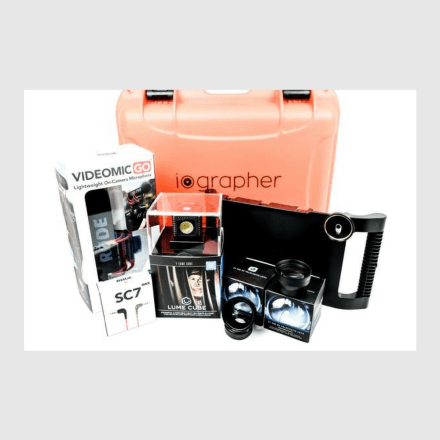 iOgrapher Filmmaking Bundle for iPad Mini 4 ONLY